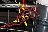 Exposed Electrical Wiring Harness
