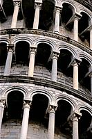 Arches of the Leaning Tower of Pisa