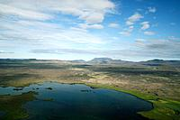 Myvatn area in Iceland
