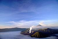 Mount Bromo,also called Gunung Bromo,is located in the Tengger Caldera in East Java,Indonesia. Part of the Tengger massif,it is an active volcano,the ...
