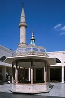 Pavilion in the courtyard of a mosque