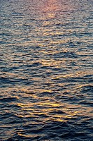 Aegean Sea at sunset