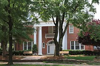 Fraternity House, University of North Carolina, Chapel Hill, USA