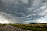 Storm over Wyoming, USA