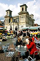 Kingston upon Thames is the principal settlement of the Royal Borough of Kingston upon Thames in London. The squares in the area are often used for ma...