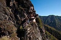 Spectacular Taktshang Goemba also know as the Tiger´s nest