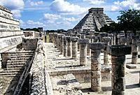 Chichen Itza is a large pre_Columbian archaeological site built by the Maya civilization,located in the northern centre of the Yucatan Peninsula,in pr...