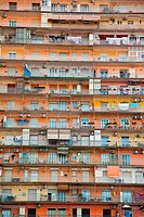 High rise living in Naples, Campania, Italy