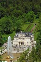 Linderhof, Linderhof Castle, Linderhof Palace, Schloss Linderhof, Upper Bavaria, Bavaria, Germany, Europe.