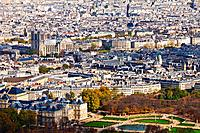 Notre Dame and Jardin de Luxembourg are visible.