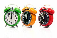 timing alarm clocks