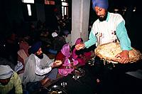 Langar is a free kitchen set up by the first Sikh Guru,Guru Nanak Dev. It promotes equality between all people of the world regardless of religion,cas...