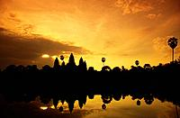 Angkor Wat is a Khmer temple and royal palace in Angkor,Cambodia,built for King Suryavarman II in the early 12th century. The largest and best_preserv...