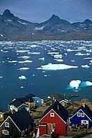 Tasiilaq is a small village and community on Angmagssalik Island. It was founded in 1848. It is the most populated community in Greenland.