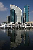 Marina Hotel Intercontinental is near the waterfront development,Dubai Festival City. This purpose built complex of buildings has residential,retail a...