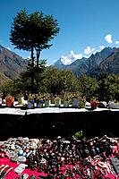 The route to Everest Base Camp in the Himalayan foothills passes through the valleys of the Solu Khumbu and the path has lodges and rest stops for tre...