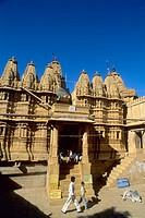 India Rajasthan Jaisalmer Jain temple.