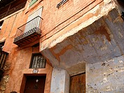 Architecture, Albarracín, Teruel province, Aragon, Spain