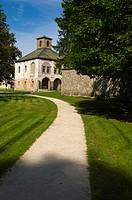 Park around Budatinski Zamok the Budatin castle Žilina Slovakia Europe