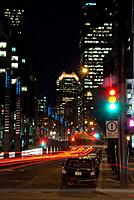 Canada, Quebec, Montreal by night (thumbnail)