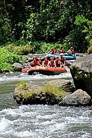 River Rafting at Bali, Tulamben, Bali, Indonesia