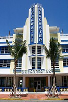 Art-deco district, Miami Beach, Miami, Florida, United States
