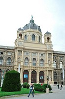 Vienna's Natural History Museum Naturhistorisches Museum  Unveiled in the 1891 by the emperor Francisco Joseph the First from Austria-Hungría  The out...