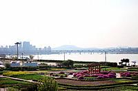 Han_gangHanriver,Seoul tower
