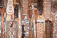 Typical Art of Baliem Valley, West Papua, Indonesia