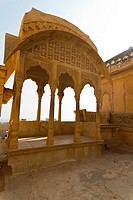 A Canopy in the Golden Fort Complex, Jaisalmer, Rajasthan, India