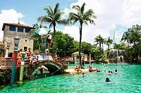 Venetian Pools, Coral Gables, Miami, Florida, USA