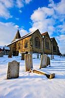 church,westerham,kent,england,uk,europe