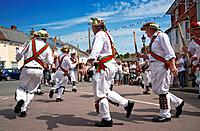Morris Dancing at the Centenary Morris Dancing Festival in Thaxted. 2011 is the centenary of the founding in December 1911 of the English Folk Dance S...