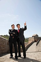 Professional Men on the Great Wall