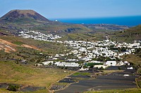 Haria  Lanzarote  Canary Islands  Spain.