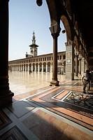 Portico of the Umayyad Mosque, Damascus, Syria