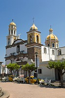 Catholic church, Comala, Colima, Mexico