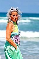 elder happy woman