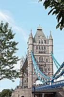 River Thames, Southwark, Tower Bridge, London, Great Britain, England, United Kingdom, UK, Europe