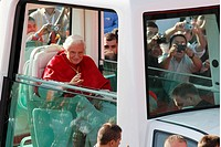 Pope Benedict XVI attends the World Youth Days 2011 in Madrid, Spain  20/08/2011
