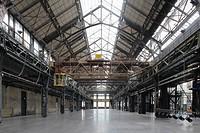 Halle 1, Als Ausstellungshalle des Bochumer Vereins für die Düsseldorfer Gewerbeausstellung 1902 gebaut und anschließend als Gebläsemaschinenhalle für...