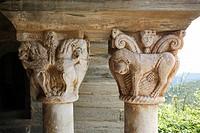 Kapitelle im Kreuzgang, 12. Jahrhundert