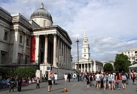 National Portrait Gallery Trafalgar Square London