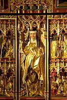 Hildegard von Bingen Altar in the Rochus chapel at Bingen, Cultural Heritage of the World: Oberes Mittelrheintal since 2002, Mittelrhein, Rhineland_Pa...
