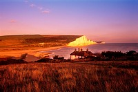 Beachy Head South Downs East Sussex England Uk