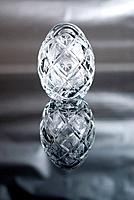 Easter crystal eggs