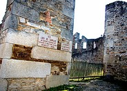 Martyr's village of Oradour sur Glane, Haute-Vienne, in Limousin, near Limoges where the 10th of June 1944, 642 persons were massacred and killed by t...