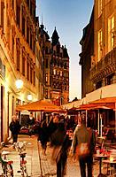 Barfussgaesschen, Leipzig, Saxony, Germany