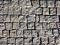 Granite pavement background