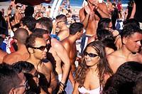 Bora Bora Disco Beach, Platja den Bossa, Ibiza, Balearic Islands, Spain